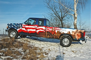Ford F250 western country