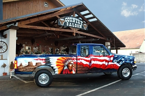 Ford F 250 Western country