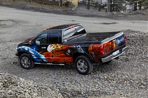 Dodge Ram 1500 / pick up / off road / Hellram / airbrush / design