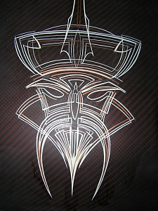 pinstriping / linky / ornament