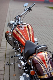American iron horse/ chopper / airbrush / grafika / design